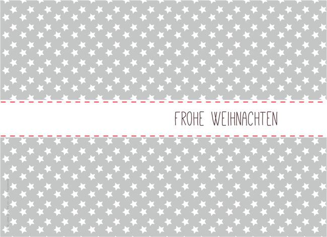 LoveAndLilies.de|Postkarte Weihnachten