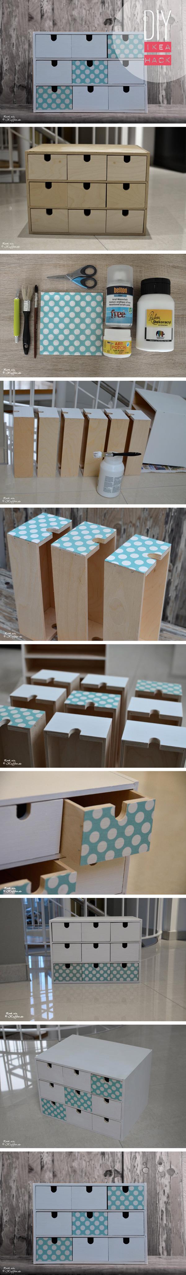 LoveAndLilies.de|DIY Ikea Hack Fira Minikommode