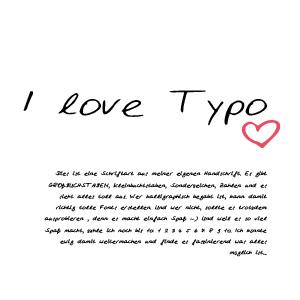 Handschrift Beispiel