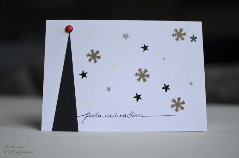 LoveAndLilies.de|Weihnachtskarten DIY Tannenbaum und Sterne / DIY Christmas Cards