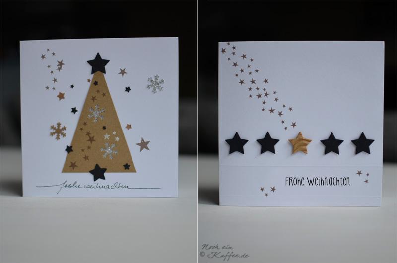 Weihnachtskarten Mit Sternen Basteln.Diy Weihnachtskarten Und Wünsch Dir Was Boards