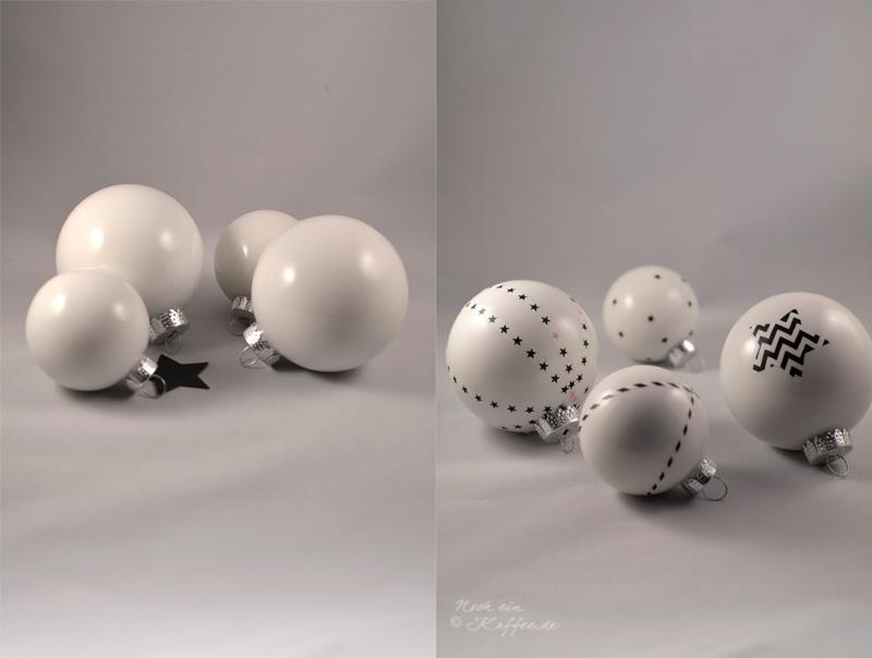 LoveAndLilies.de|DIY: Masking Tape trifft Christbaumkugel |Weihnachtskugeln verziert mit Masking Tape