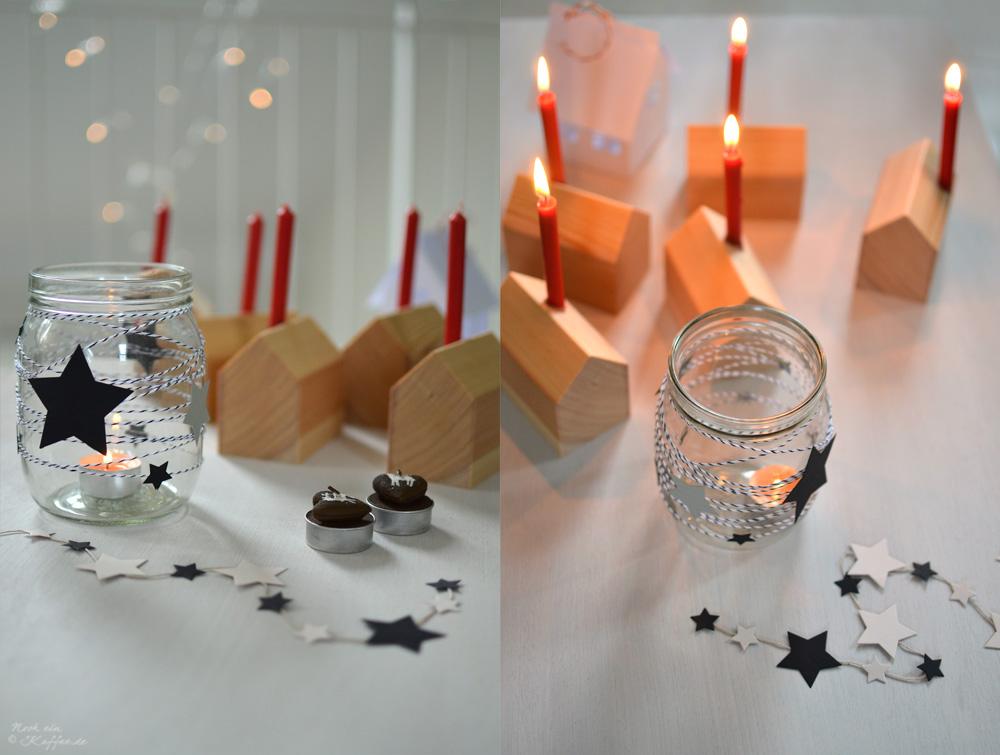 LoveAndLilies.de DIY: Weihnachts-Holzhäuschen und weihnachtliche Weckgläser