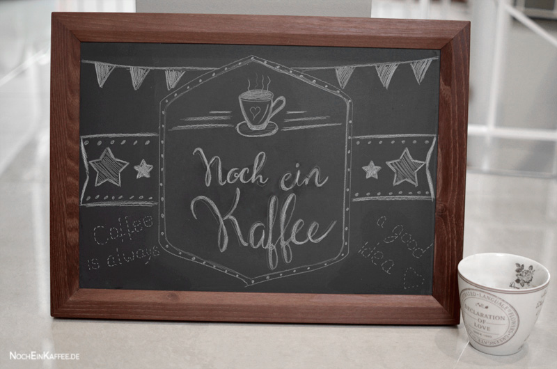 LoveAndLilies.de|Chalkboard DIY  Coffee