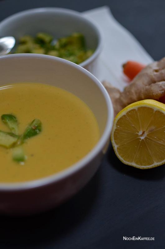 LoveAndLilies.de|Karotten-Kokos-Ingwer-Suppe