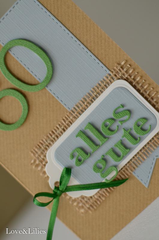 Love & Lilies // Karte Alles Gute zum 60. Geburtstag 2