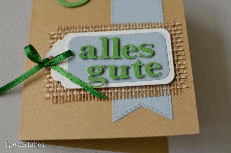 Love & Lilies // Karte Alles Gute zum 60. Geburtstag 4