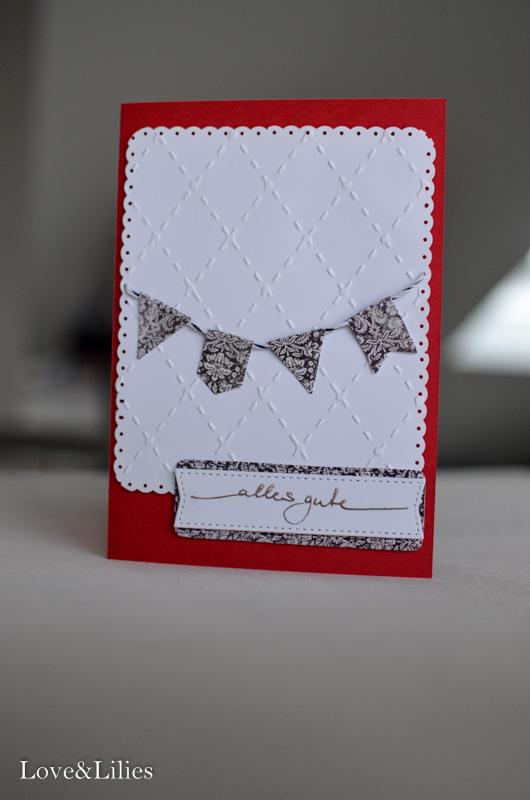 Love & Lilies // Karte Alles Gute zum Geburtstag