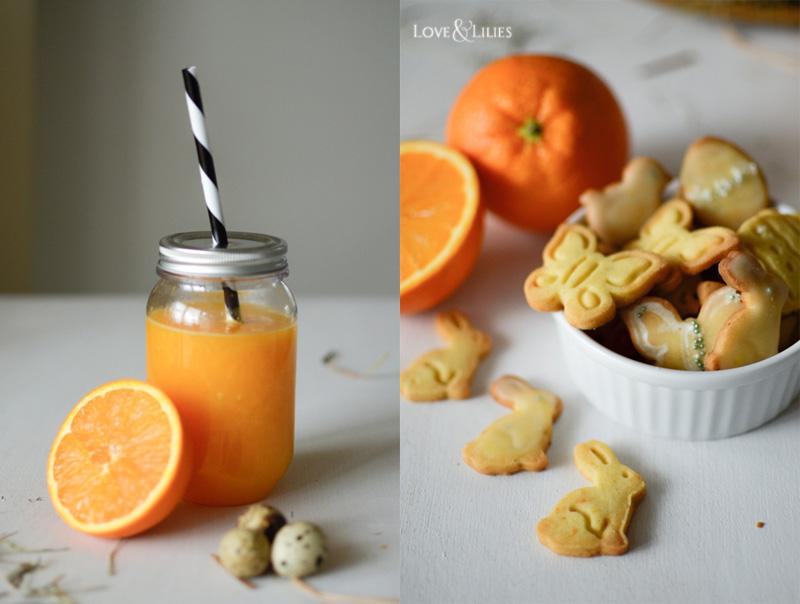 LoveAndLilies.de // Frisch gepresster Orangensaft und Orangen-Butter-Plätzchen