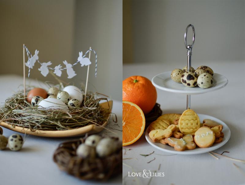 LoveAndLilies.de // Orangen-Butter-Plätzchen und ein Osternest