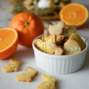 LoveAndLilies.de // Plätzchen für Ostern: Orangen-Butterkekse