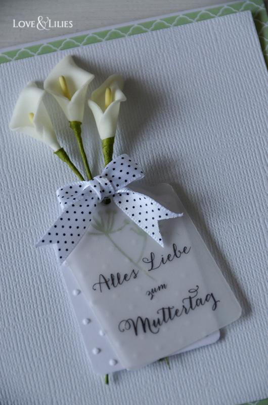 LoveAndLilies.de // Muttertagskarte Calla