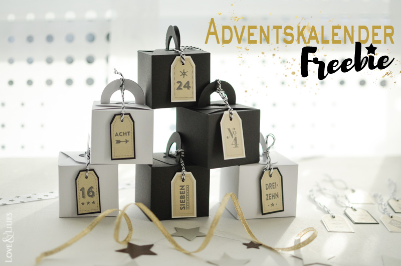 LoveAndLilies.de | Freebie: Retro Adventskalender Zahlen zum Download