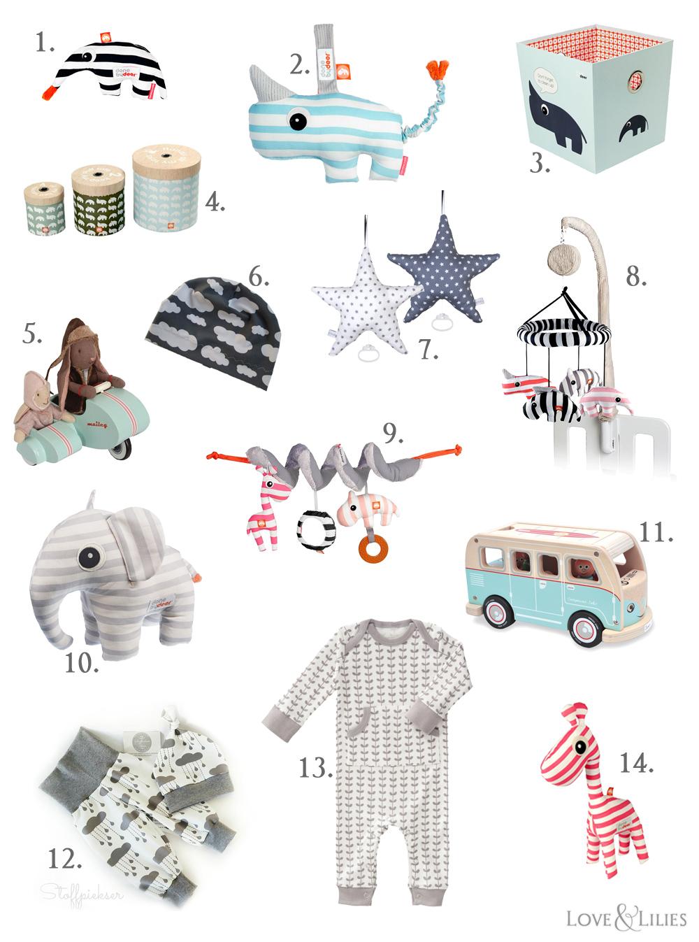 LoveAndLilies.de | Geschenke für Babys, Ideen zur Geburt