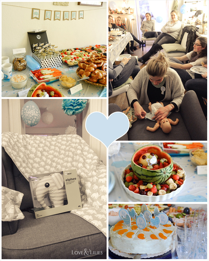LoveAndLilies.de | Babyshower Babyparty Ideen