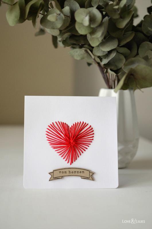 LoveAndLilies.de | Handmade/DIY: Eine Karte zum Muttertag