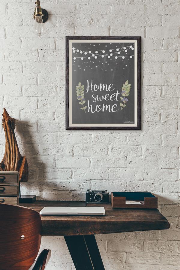 LoveAndLilies.de | Chalkboard Home Sweet Home