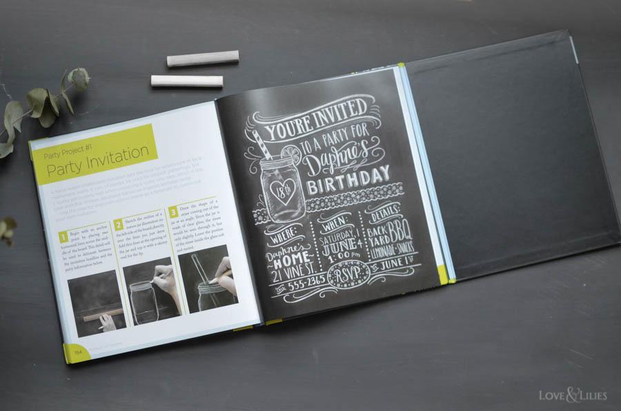 LoveAndLilies.de | The Complete Book of Chalk Lettering von Valerie McKeehan - ein tolles Buch für alle Handlettering und Chalkboard Fans