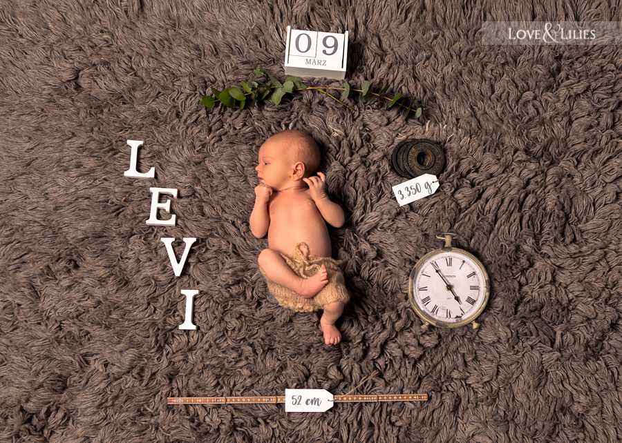 LoveAndLilies.de | Geburtsfoto unseres kleinen Levi