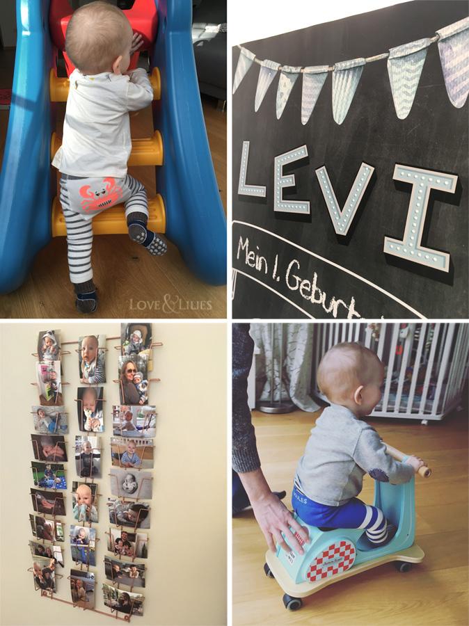 LoveAndLilies.de | Ein Chalkboard zum 1. Geburtstag, Geschenkideen und Dekoideen zum Kindergeburtstag auf loveandlilies.de