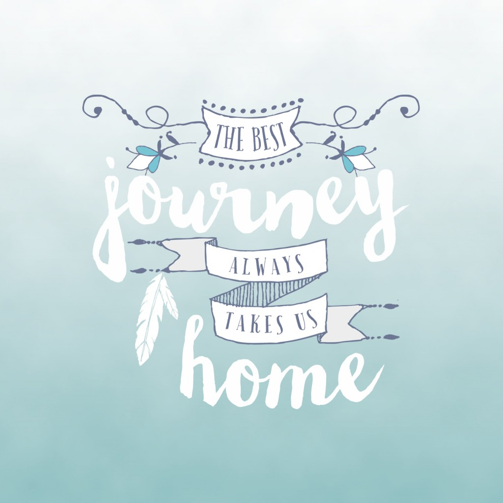 Free Wallpaper Download | The best journey always takes us home