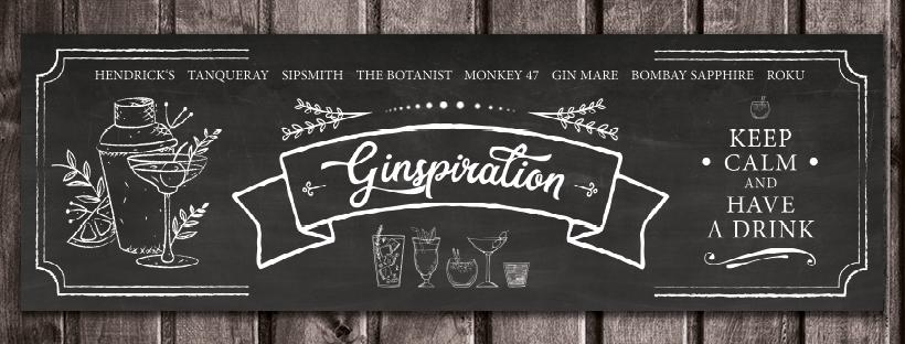 Ginspiration - Chalkboard Ginbar / Bar
