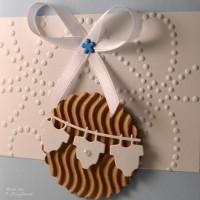 LoveAndLilies.de|babykarte blau