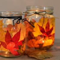 LoveAndLilies.de // Windlicht Herbst