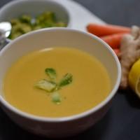 LoveAndLilies.de // Karotten-Kokos-Ingwer-Suppe