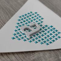 LoveAndLilies.de // DIY Girlande Wimpelkette Happy Birthday Detail a Stitch
