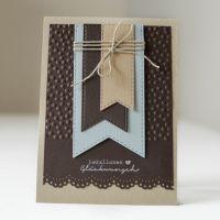 LoveAndLilies.de | Handmade/DIY: Eine Geburtstagskarte für Männer