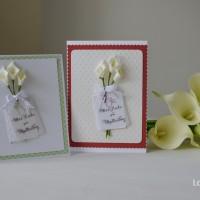 LoveAndLilies.de // Muttertagskarten Calla