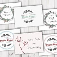 LoveAndLilies.de // Freebie Karten zum Muttertag